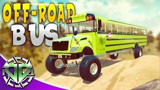 OFF-ROAD SCHOOL BUS! : Car Mechanic Simulator 2018 Gameplay : Livestream