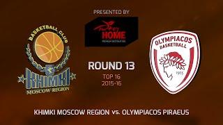 Highlights: Khimki Moscow region-Olympiacos Piraeus