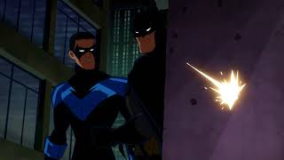 Batman & Nightwing vs. Red Hood!