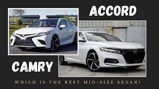 2020 Toyota Camry vs. 2020 Honda Accord | 10 KEY DIFFERENCES
