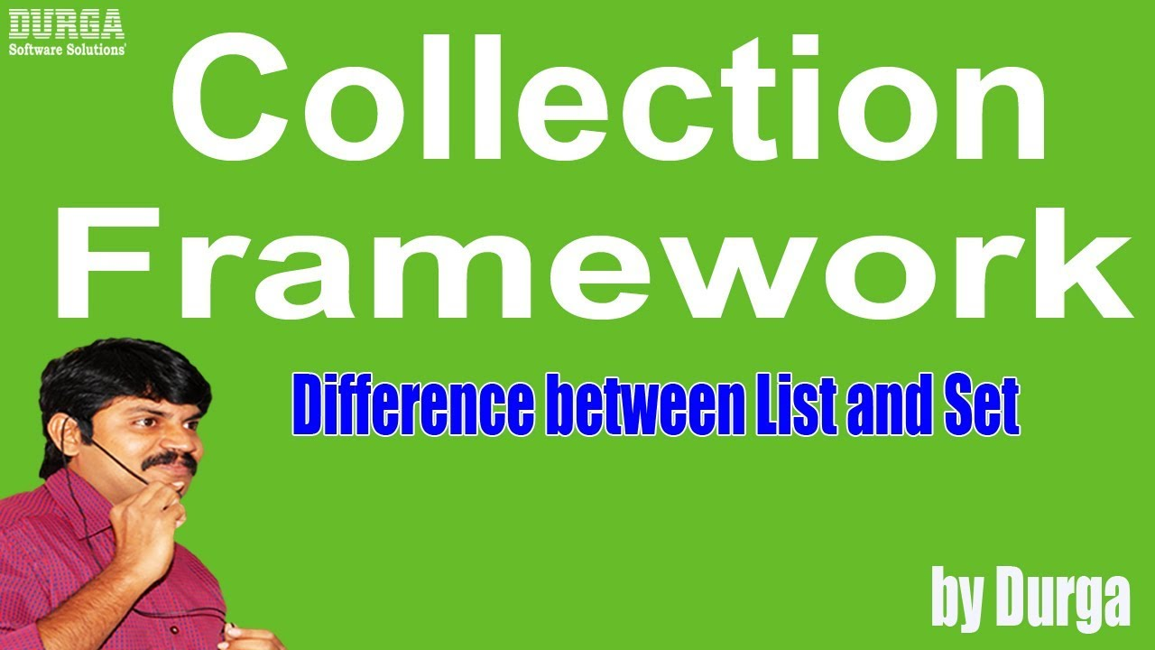 difference between set and list in java