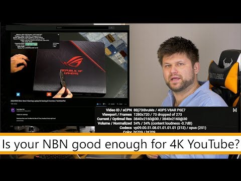 Can Your NBN Connection Watch 4K YouTube? | Tech Man Pat