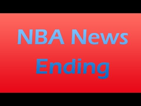 NBA News Series Ending On My Channel