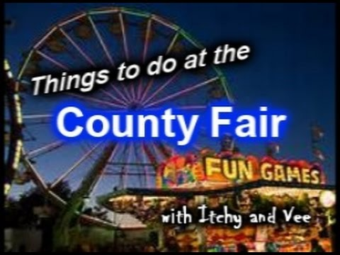Things to do at the County Fair!