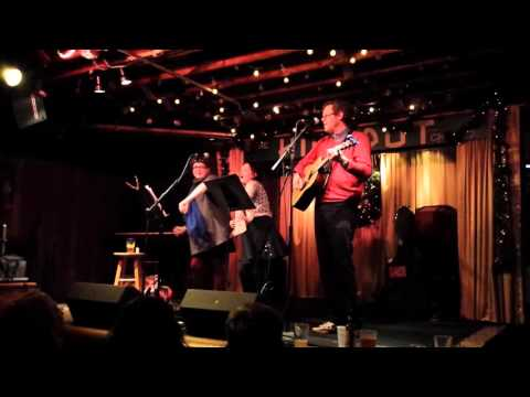 Robbie Fulks, Kelly Hogan, the Hideout 12/21/15, Decemberists Cover