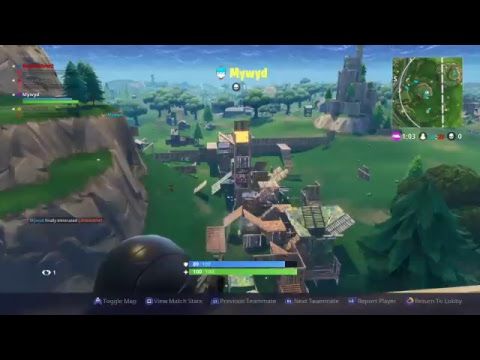 Fortnite battle royalty Tilted Towers is not distroyed 50 v 50