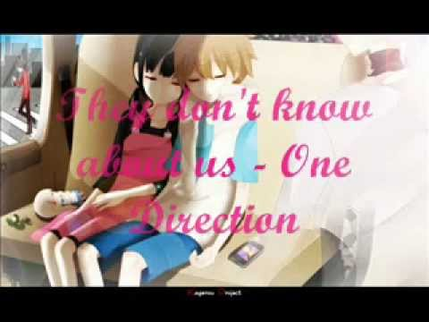 They don't know about us - One Direction [Nightcore] - YouTubeOne Direction Over Again Nightcore