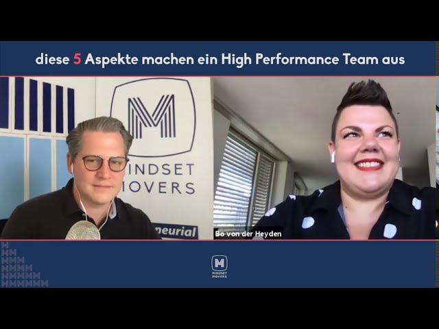 Zu Gast bei Mindset Movers - High Performance Teams