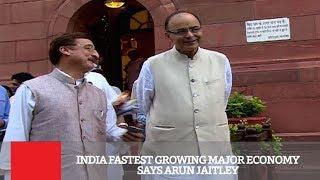 India Fastest Growing Major Economy Says Arun Jaitley