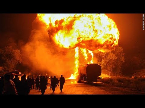 Oil tanker blast in hydrabad