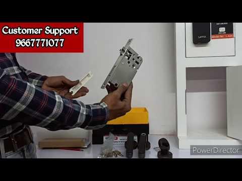LAVNA  |  Digital Locks, Installation video of L-A16