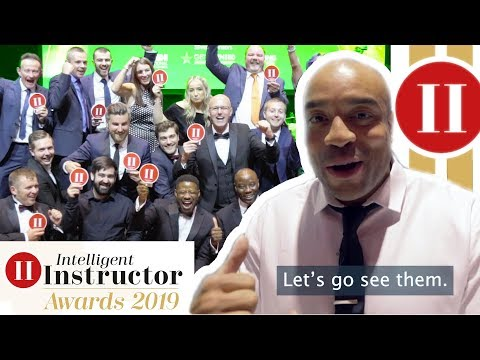 ADI Intelligent Instructor Awards 2019 With Francis The Driving Instructor