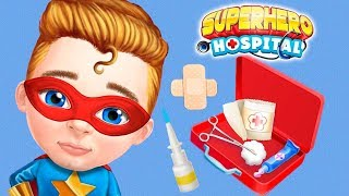 Fun Sweet Baby Girl Care Games - Superhero Doctor Hospital Dress Up, Makeover