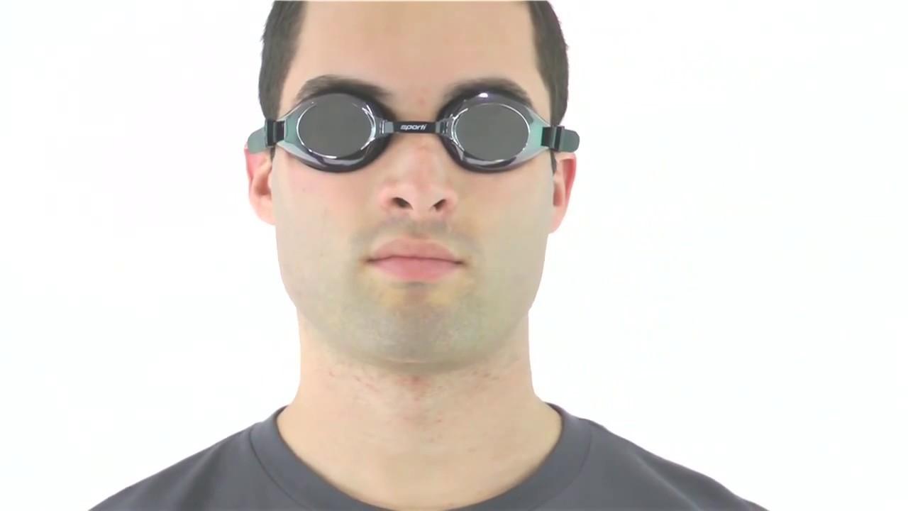 4d0278ef41c Sporti Antifog Plus Mirrored Goggle