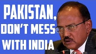 Watch LIVE: Ajit Doval warning and ultimatum to Pakistan