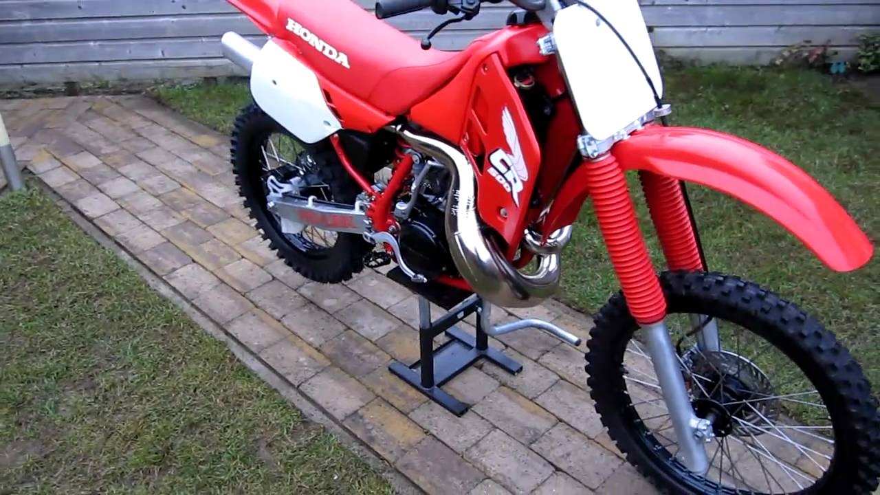 honda cr 500 1988 after rebuild youtube. Black Bedroom Furniture Sets. Home Design Ideas
