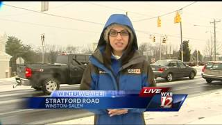 Sabrina reports on W-S road conditions