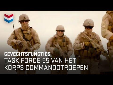 Task Force 55 van Het Korps Commandotroepen | Werken bij Defensie