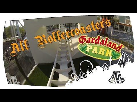 All Rollercoasters: Gardaland (Castelnuovo del Garda VR, Italy)