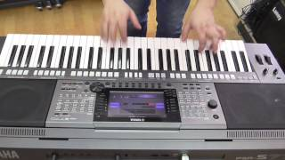 Yamaha PSR-S770 Arranger Keyboard Demo, обзор