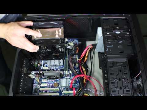 Installing an After Market CPU Cooler Fan - Cooler Master Hyper 212 EVO