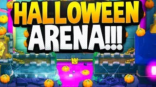 New HALLOWEEN Season 4 Arena LEAKED by CLASH ROYALE!! 🎃