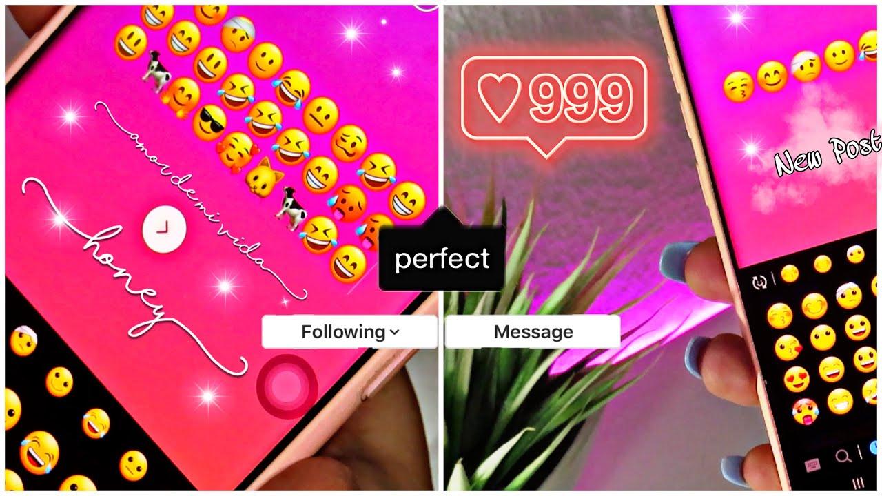 Como instalar Emojis de iPhone en ANDROID para INSTAGRAM NUEVO Y UNICO METODO