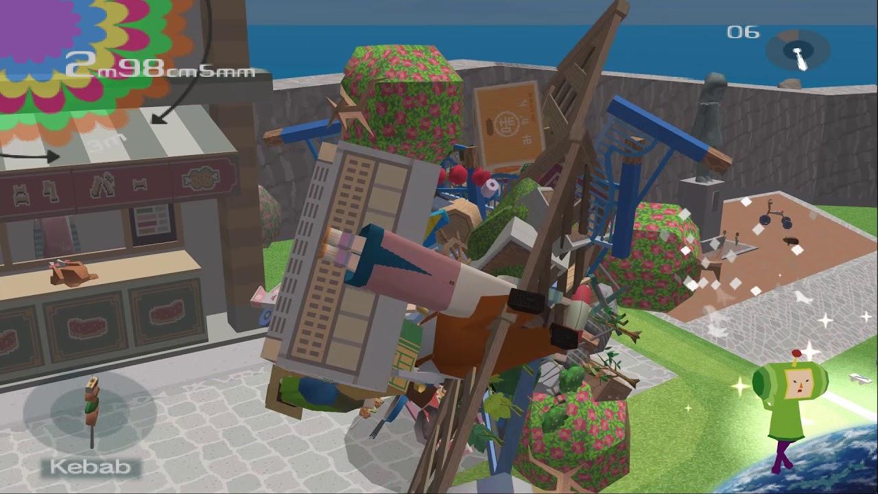 Katamari Damacy Gameplay
