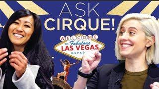 Video Ask Cirque in LAS VEGAS !  Episode #7 | Learn more about Cirque du Soleil shows on The Strip! download MP3, 3GP, MP4, WEBM, AVI, FLV Juli 2018