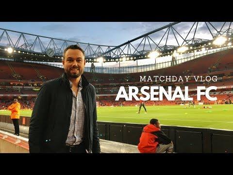 ARSENAL FC MATCHDAY VLOG @ Emirates Stadium [VLOG]