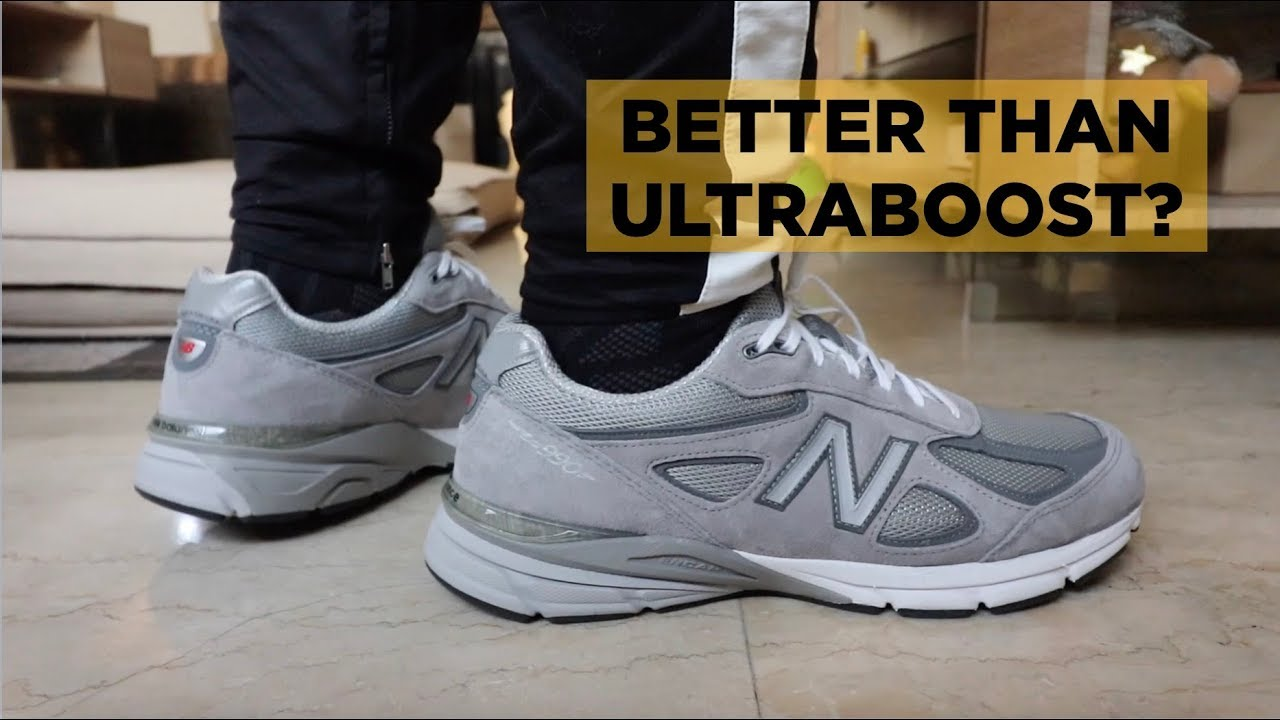 release date 3e76b 42f33 New Balance 990 V4 Review: BETTER THAN THE ULTRABOOST?