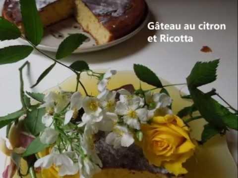 gâteau-à-la-ricotta-&-citron-recette-de-grand-mère-leger-et-onctueux