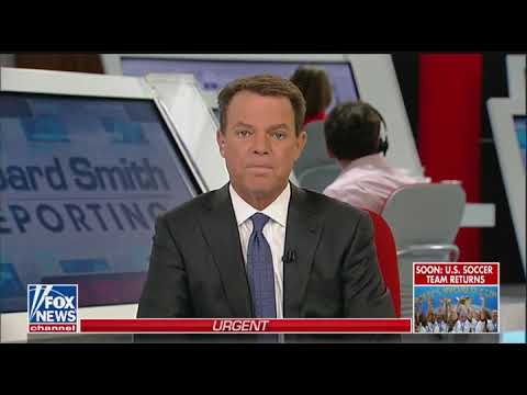 Shepard Smith cuts off Trump's environmental speech to fact-check his claims