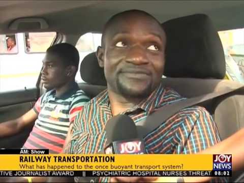 Railway Transportation - AM Show on Joy News (24-10-16)