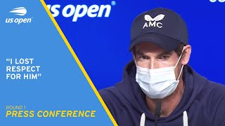 Andy Murray Press Conference | 2021 US Open