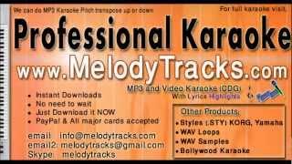 Aadmi Musafir Hai - Rafi KarAoke - www.MelodyTracks.com