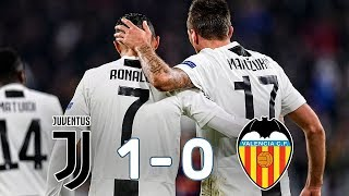 Juventus vs Valencia 1-0 ● Match Reaction ● Champions League