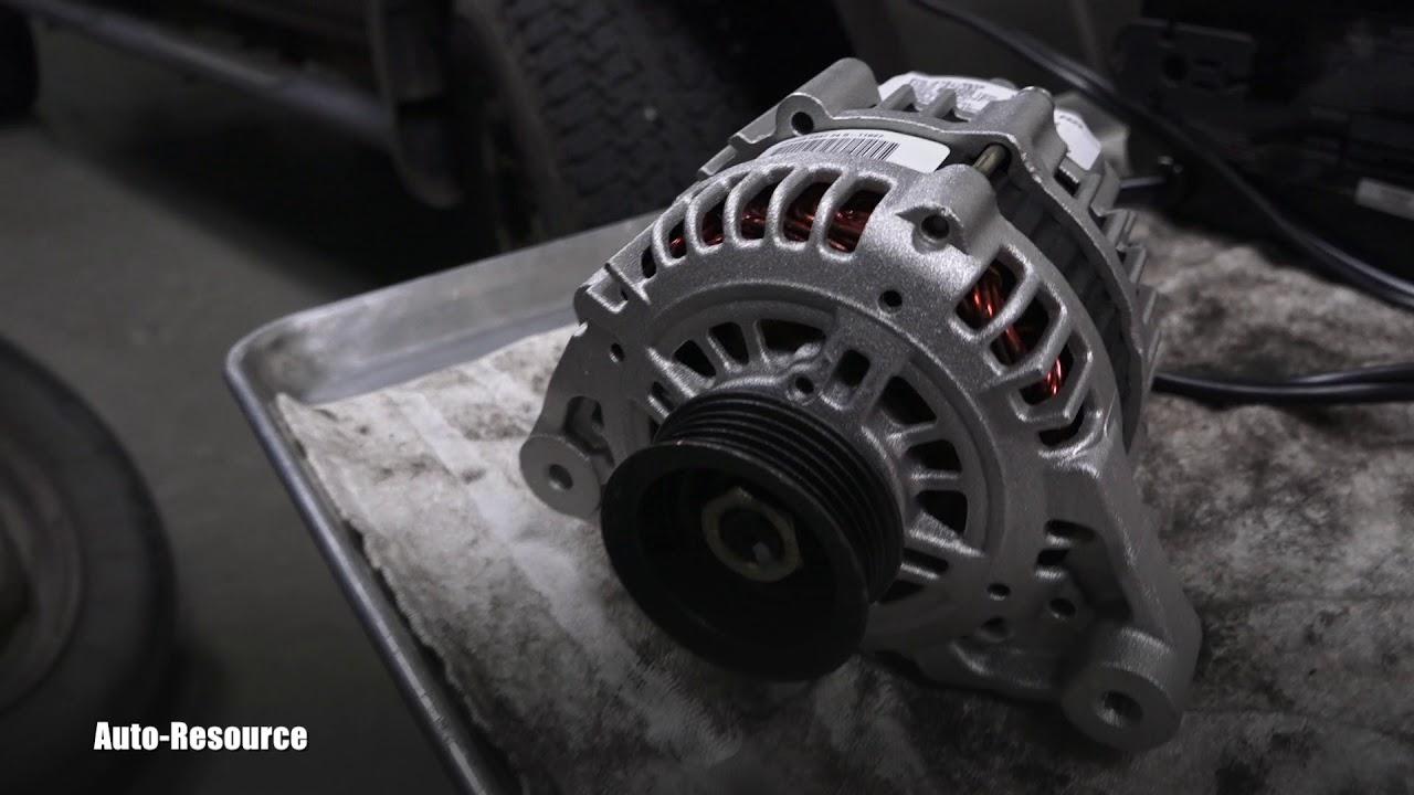 nissan frontier alternator replacement