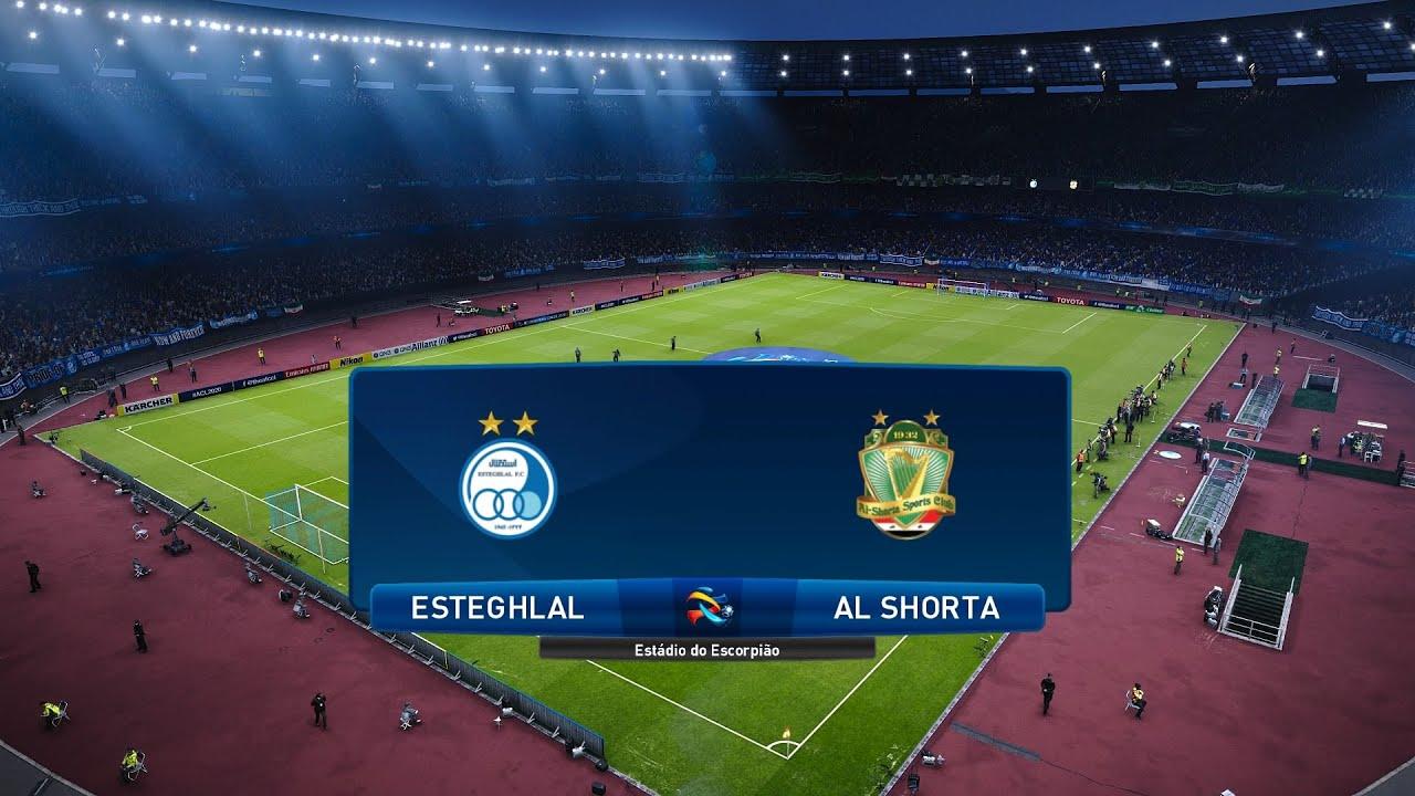 PES 2021   Esteghlal vs Al Shorta - Asia AFC Champions League   20/09/2020