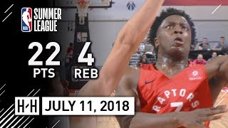OG Anunoby Full Highlights vs Nuggets (2018.07.11) NBA Summer League - 22 Pts, 4 Reb