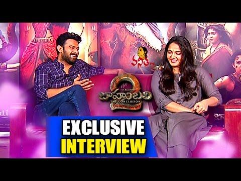 #Baahubali2 Team Exclusive Interview    Prabhas, Anushka Shetty    Vanitha TV