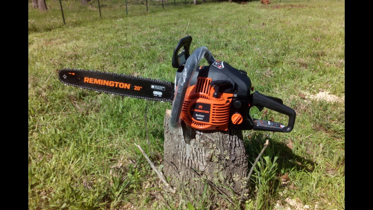 Remington rm4620 chainsaw first use and review youtube remington rm4620 chainsaw first use and review greentooth Gallery