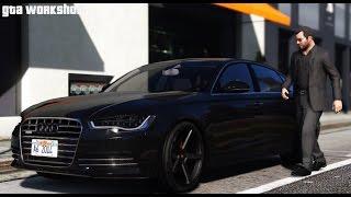 GTA 5 MOD | Audi A6 C7 - 2014 | Fast Drive!!! | PC - 60 FPS