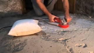 Concrete Grinding: No Dust, No Vacuum