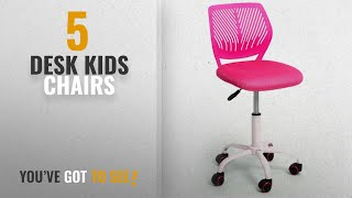 Top 10 Desk Kids Chairs [2018]: GreenForest Adjustable Kids Study Chair Low Back Small Desk Chair ,