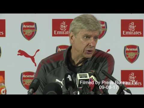 Arsene Wenger pre Arsenal vs Leicester