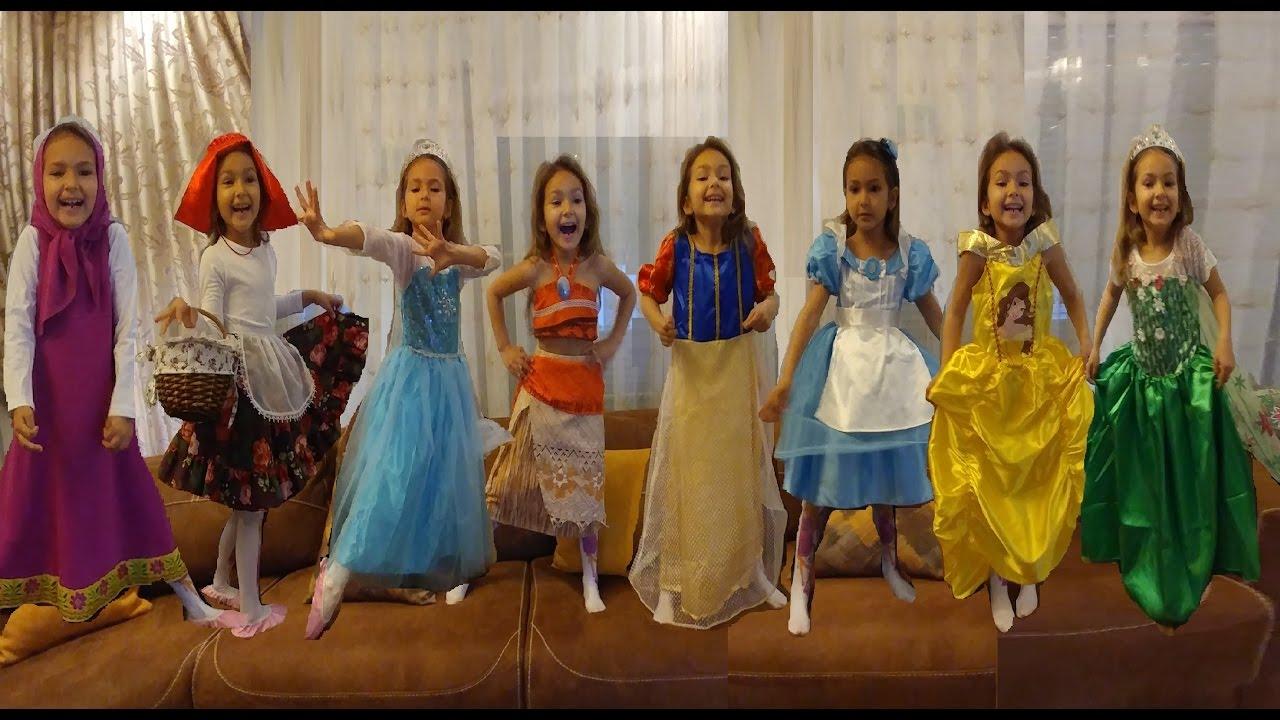 prenses kostumleri challange elsa anna jasmin alisa moana