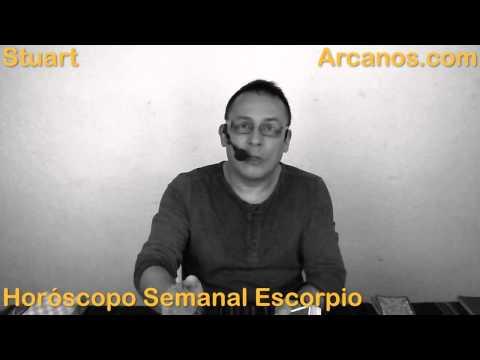Horoscopo Escorpio del 15 al 21 de marzo 2015 - Lectura del Tarot de YouTube · Duración:  3 minutos 37 segundos