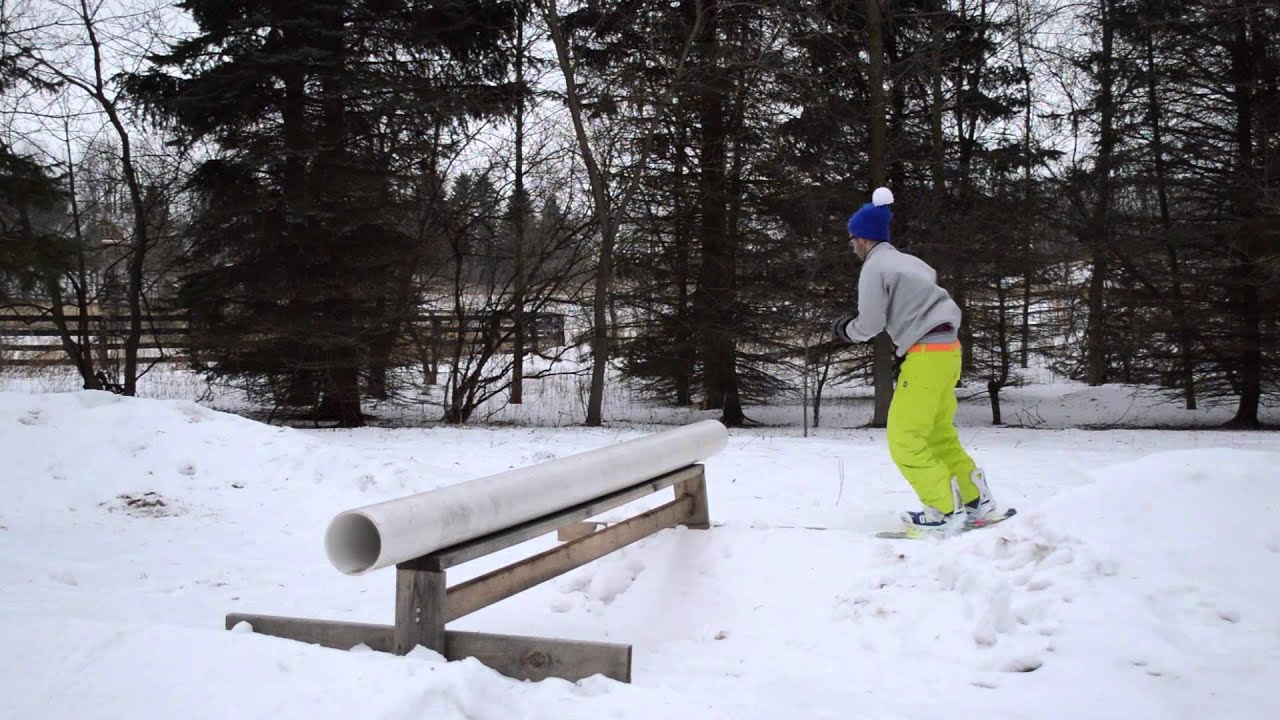 Backyard Snowboarding YouTube - Backyard snowboarding
