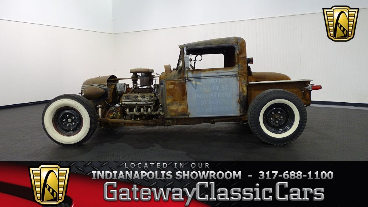 1929 Ford Model A Rat Rod-Indianapolis Showroom-Stock #992 - YouTube